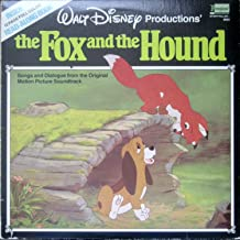 Walt Disney Productions' The Fox and the Hound (Inside 12-Page Full Color Read Along Book) [LP Record]