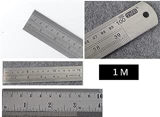 100cm metal ruler