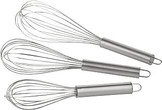 Batteur /à main pour la cuisson Jean-Patrique Fouet /écologique en acier inoxydable Batteur /à batteur polyvalent Batteur /à lait et /à oeufs 35 cm