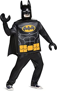 Disguise Men's Lego Iconic Mask & Hands Adult Costume Kit