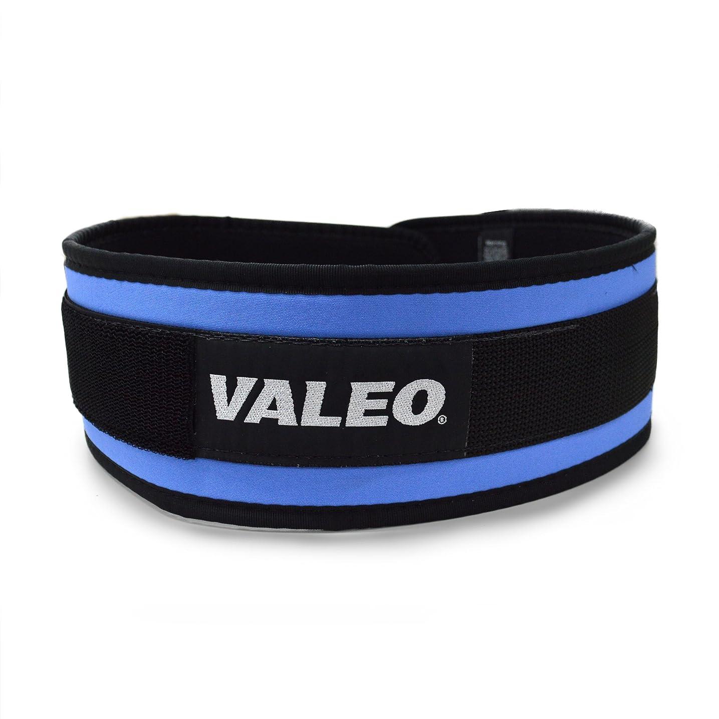 ペンス羽盗賊VALEO オリジナルベルト 4インチ幅 ブルー L VABOG-BU-45