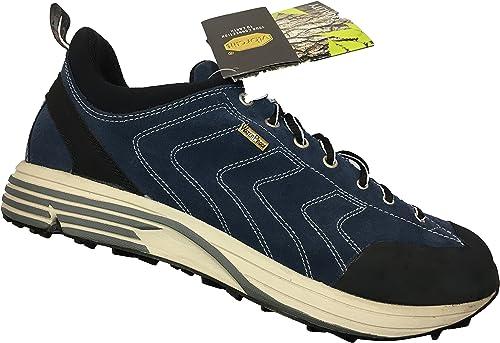 zapatos Trekking Marca GARSPORT Fondo Vibram Membrana Impermeabilización Artículo MEGAN 12 Color azul