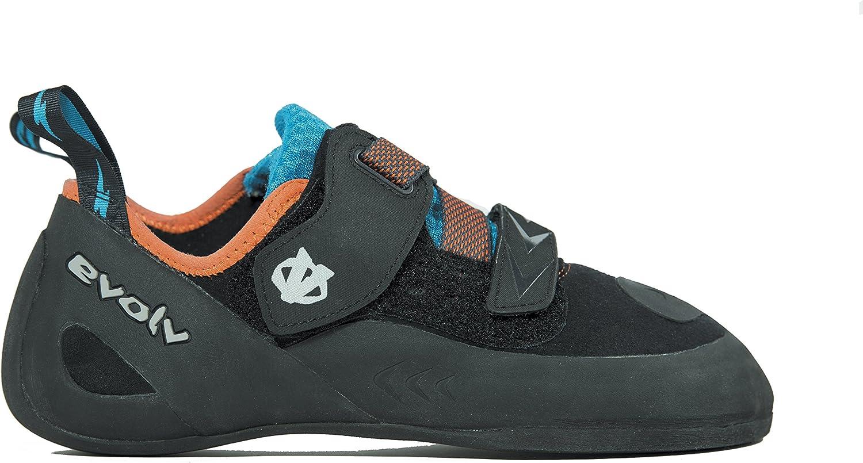 (5 D(M) US, Black orange)  Evolv Kronos Climbing shoes