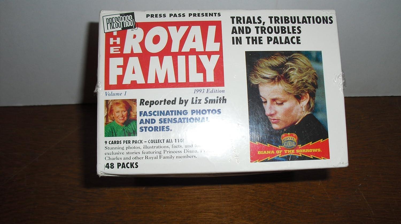 orden ahora disfrutar de gran descuento The The The Royal Family Trading Cocheds 1993, The World's Biggest Story, 1993 Edition by Presspass  entrega de rayos