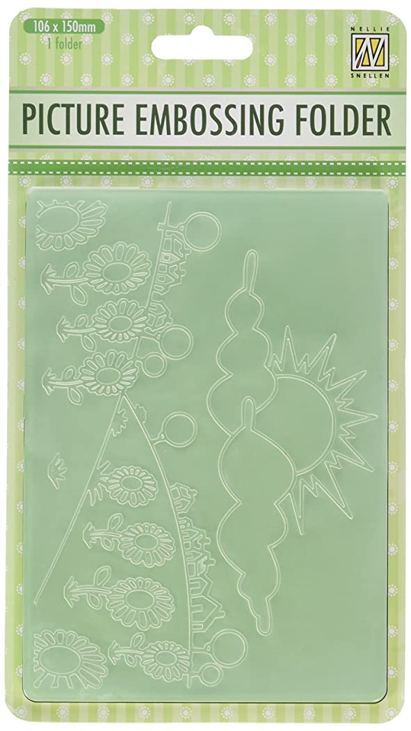 Ecstasy Crafts Nellie's Choice Embossing Folder 4