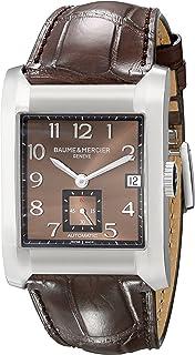 Baume & Mercier - Bau-8213 - Reloj de pulsera hombre, piel