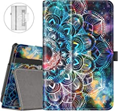 VORI Case for All-New Fire 7 Tablet (9th Generation, 2019 Release), Folio Smart Cover with Auto Wake/Sleep (Mandala Galaxy)