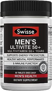 Swisse Ultivite 50+ Multivitamin, Men's, 60 Count