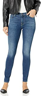 7 For All Mankind Women`s Gwenevere Ankle Skinny Mid Rise Jean