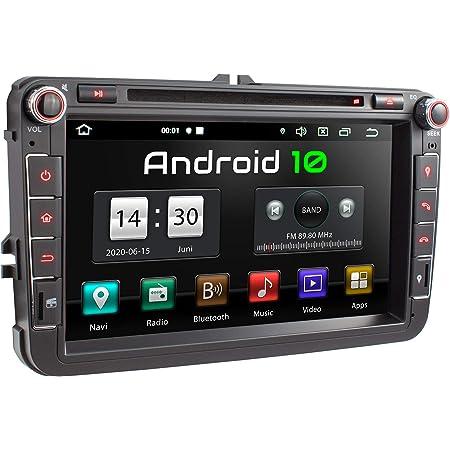 Xomax Xm 11ga Autoradio Passend Für Vw Seat Skoda Mit Elektronik