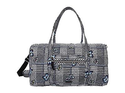 Vera Bradley Performance Twill Lay Flat Travel Duffel (Bedford Plaid) Carry on Luggage