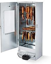 """KAISER COMPANY """"100"""" Hochwertige elektrische Räucherei/Räucherkammer aus verzinktem Blech I Tragbare Räucherei 120 cm I Ideal zum Räuchern I Kann bis zu 15 kg Fleisch aufnehmen I 2000 W I mit Zubehör"""
