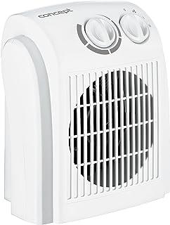 Concept Electrodomésticos VT7010 Ventilador de Aire Caliente, 1500 W, Plástico, Blanco