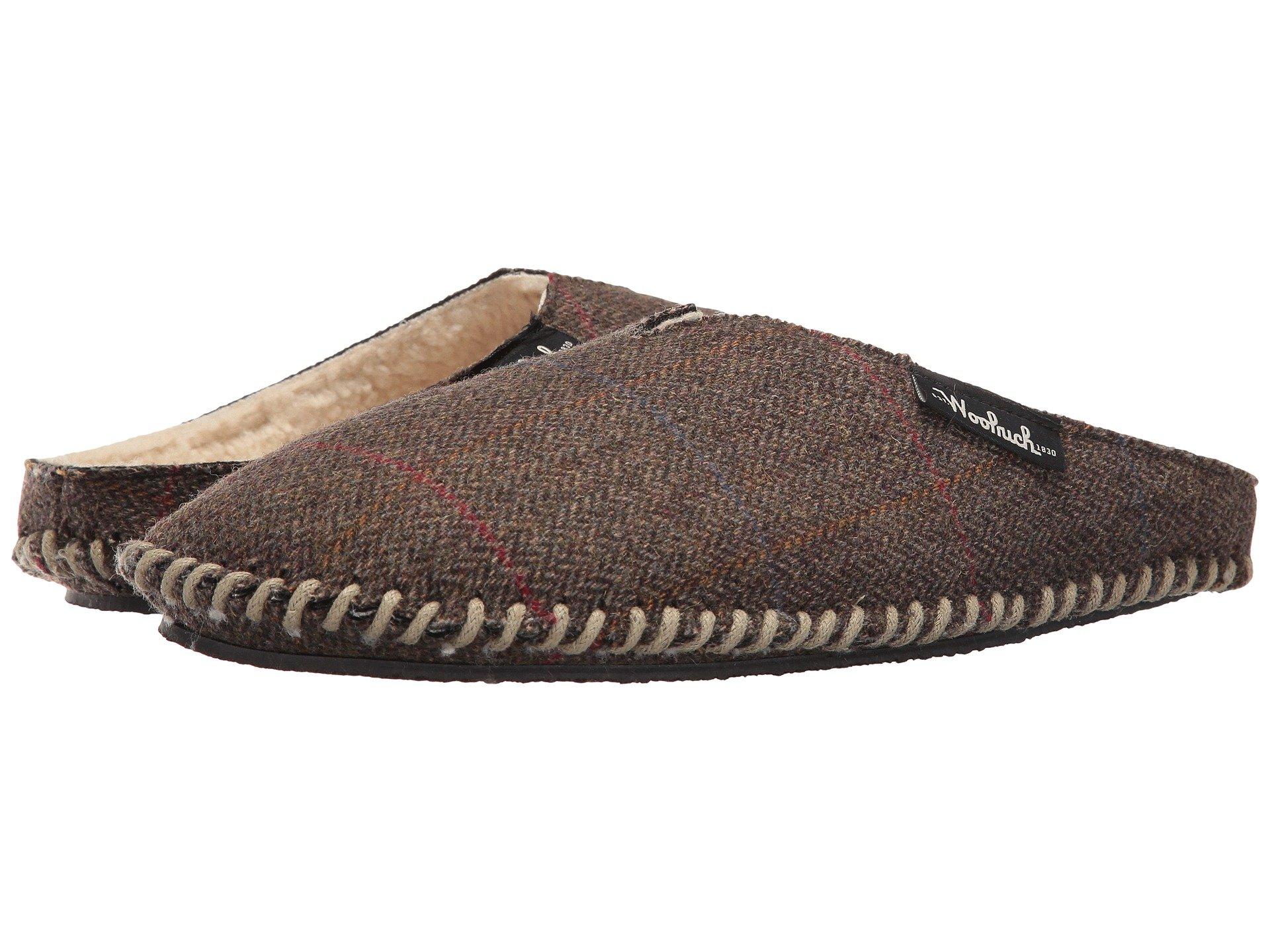 Zapatos de Descanso para Hombre Woolrich Wool Mill Scuff  + Woolrich en VeoyCompro.net