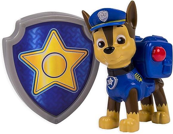 Paw Patrol - Action Pack Chase Figur und Abzeichen [UK Import ]
