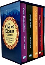 Charles Dickens 5 Books Collection Box Set (Oliver Twist, A Christmas Carol, Hard Times, A Tale of Two Cities, Great Expectations)
