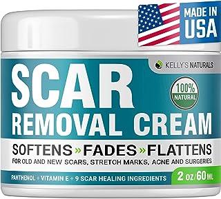 Scar Removal Cream - Effective Stretch Mark Removal - Natural Skin Repair - Acne Scar Remover Cream - Made in USA - Advanc...