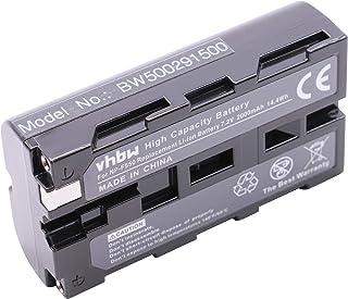 vhbw Batería Li-Ion 1800mAh (7.2V) para cámara Sony sustituye Sony NP-F930 NP-F950 Grundig BP-8 BP-9 BP-10.