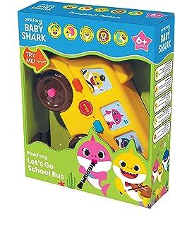 Pinkfong Babyshark Lets Go School Bus, Multi-Colour, LS013