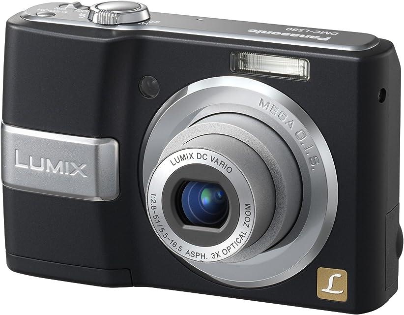 Panasonic DMC-LS80EG-K - Cámara Digital Compacta 8.3 MP (2.5 Pulgadas LCD 3X Zoom Óptico)
