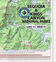 Sequoia & Kings Canyon National Parks (Tom Harrison Maps)