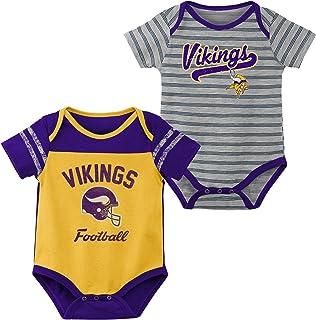 79a57acf1daf07 Outerstuff NFL Unisex-Baby Newborn & Infant Dual-Action 2 Piece Bodysuit Set