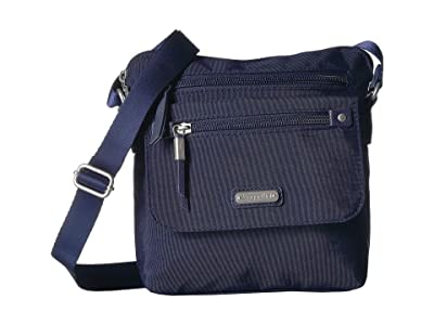Baggallini New Classic Escape Crossbody with RFID Phone Wristlet (Navy) Handbags