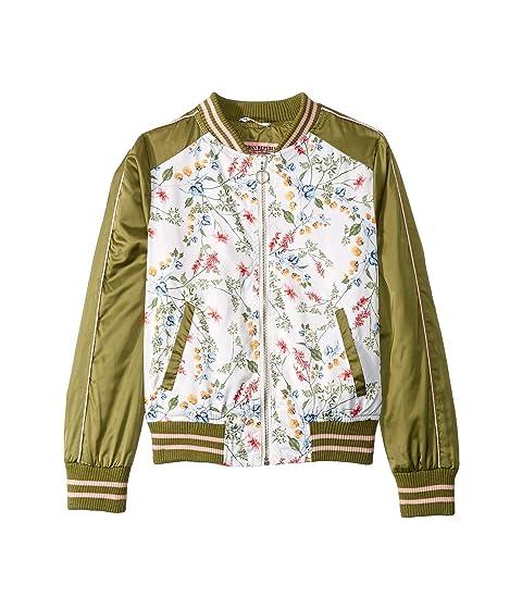 9799136b7 Urban Republic Kids Eleanor Sateen Floral Bomber Jacket (Little Kids ...