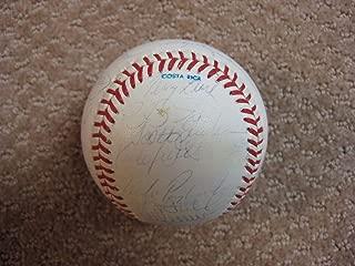 1991 Minnesota Twins World Series Team Signed Baseball Kirby Puckett - JSA Certified - Autographed Baseballs