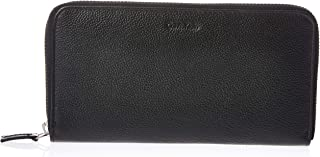 Calvin Klein Zip Around Wallet for Women-Black