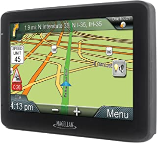 Magellan RM5045RGLUC Refurbished Roadmate 5045-Lm 5 Inch GPS Device with Free Lifetime Map Updates