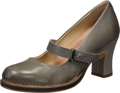 Neosens S279 Restorojo Skin Vetiver Baladi, zapatos de tacón con Punta Cerrada para mujer