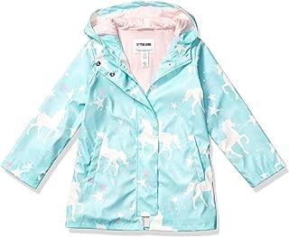 Amazon Brand - Spotted Zebra Girl's Toddler & Kid's Rain Coat