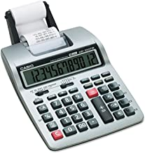 $34 » CASIO HR100TM HR-100TM Two-Color Portable Printing Calculator, Black/Red Print, 2 Lines/Sec by Casio