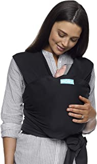 Moby Classic Wrap, Black, One Size (MCL-Black)