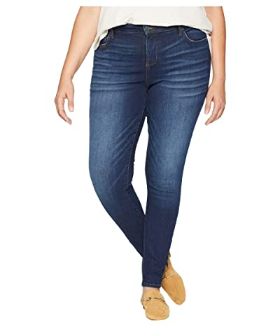 KUT from the Kloth Plus Size Mia High-Waist Skinny Jeans in Goodly (Goodly/Dark Stone Base Wash) Women