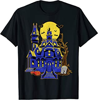 Halloween Haunted House Costume T-Shirt Trick Or Treat Grave T-Shirt