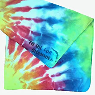 diving chamois tie dye