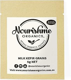 Milk Kefir Grains- Make Your Own Milk Kefir with Fresh Live Organic Real Kefir Grains by Nourishme Organics - 5g