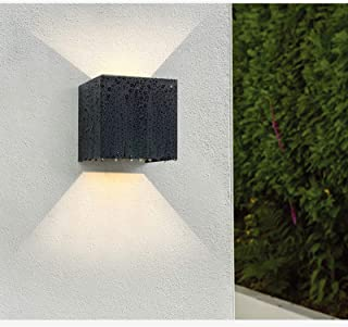 LED Cube Exterior Aluminum IP65 Waterproof Wall Lamp, Yosoan 4.7