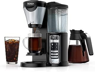 Ninja CF021 Coffee Maker Auto-iQ 1-Touch Intelligence (Renewed)