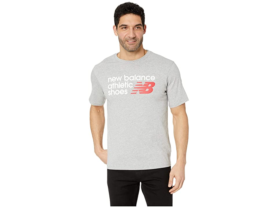 New Balance Athletic Shoebox Tee (Athletic Grey) Men