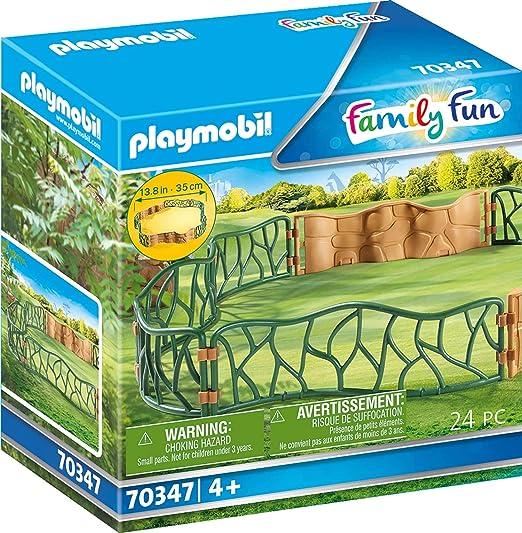 Tierpark Playmobil großes Gehege für den Zoo