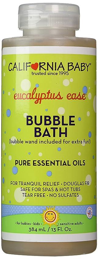 解決するインフルエンザ不完全なCalifornia Baby Colds & Flu Bubble Bath - 13 oz.