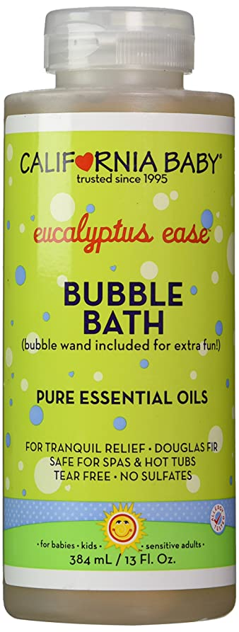 やろう崇拝するイヤホンCalifornia Baby Colds & Flu Bubble Bath - 13 oz.
