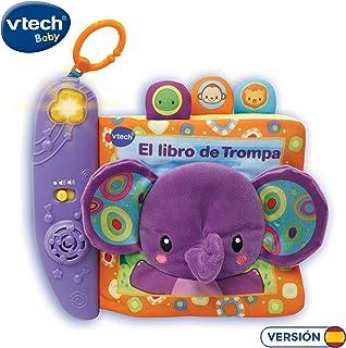 comprar comparacion VTech-El Libro de Trompa Cuento de Tela Interactivo para bebé con un Suave Elefante de Peluche y Diferentes Texturas para ...