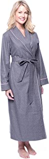 Robes for Women - 100% Cotton Flannel Womens Robe