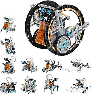 GARUNK Solar Robot Kit for Kids, 12 in 1 Educational STEM Science Toy, Solar Power Building Kit DIY Robotics Set, Science,...