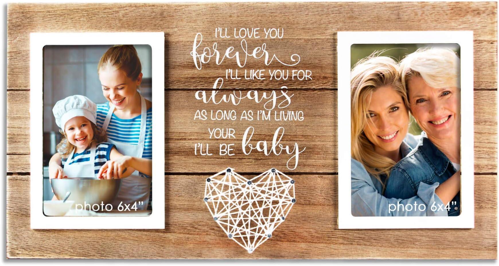 Custom Frame for Mom Custom Picture Frame Mother Daughter Gift Gift from Daughter Gift for Mother In Law Step Mom Gift Gift from Son
