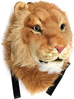 3D Animal Head Backpack Bag tiger/Lion/leopard/black bear Head Knapsack